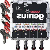 NOCO Genius G4 6V/12V 4.4 Amp 4-Bank Advanced Battery