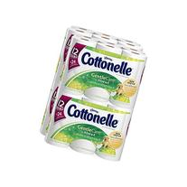 Cottonelle Gentle Care Toilet Paper with Aloe and E Super
