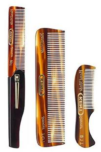 Kent Gentlemen's Comb Set: 81T Beard and Moustache Comb, FOT