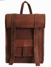 HandMadeCart 100% Genuine Leather Backpack for Laptop Hiking