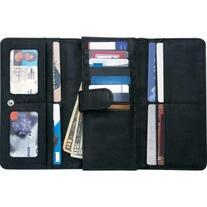 Embassy Ladies' Solid Genuine Leather Wallet with RFID