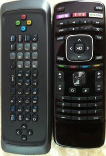 New Smart TV Qwerty Dual Side Keyboard Remote Control for
