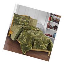 Dream Factory® Geo Camo Comforter Set