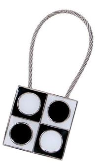 ACME Studios Geometri Key Ring  by ACME Studios Inc