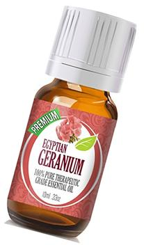 Geranium Egypt - 100% Pure, Best Therapeutic Grade Essential