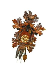 German Cuckoo Clock 1-day-movement Carved-Style 13 inch -
