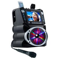 "Karaoke USA GF842 DVD/CDG/MP3G System with 7"" TFT Color"
