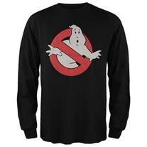 Ghostbusters - Ghost Logo Long Sleeve T-Shirt - XL
