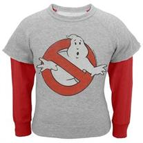 Ghostbusters - Ghost Slime Infant Reversible Crewneck