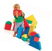 "Edushape Giant Blocks 4 1/3"" / 16 Box"