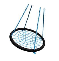 "SkyBound Giant Round 40"" Tree Swing Net, Black & Blue"