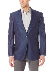 Tommy Hilfiger Men's Gibbs Contemporary Blazer Denim, Blue,