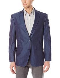 Tommy Hilfiger Men's Gibbs Contemporary Blazer Denim, Blue,