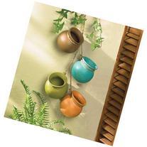Gift & Decor Hanging HERB Dangling Mini Pots Wall Pottery