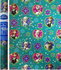 Disney Frozen Gift Wrap - 20 Sq Ft Roll