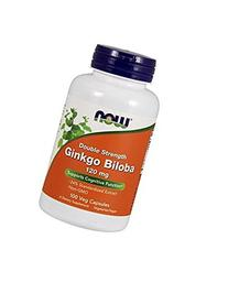 NOW Foods Ginkgo Biloba 120mg, 100 Vcaps