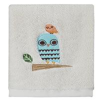 Creative Bath Products Give a Hoot Wash Cloth