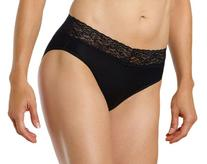 ExOfficio Women's Give-N-Go Lacy Lu Bikini,Black,Large