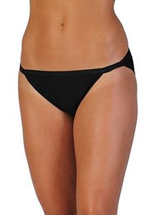 ExOfficio Women's Give-N-Go String Bikini,Black,Small