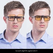 Archgon Computer Glasses Anti Blue Light UV Protection Clip-
