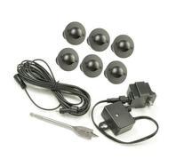 Paradise GL28106BK6 Low Voltage Cast LED Deck Light Kit,