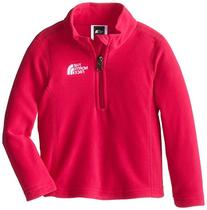 The North Face Glacier 1/4 Zip Girl's Passion Pink M