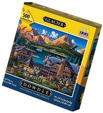 Dowdle Puzzle Glacier National Park 500pcs