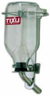 Lixit Glass Bird Water Bottle 32oz Tuff Tip 5/8 in