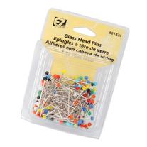 Glass Head Pins-150/Pkg