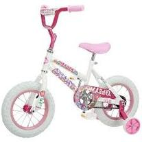 Pacific Cycle 12 inch Gleam Bike - Girls WHITE