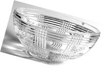 Ralph Lauren Glen Plaid Large Crystal Bowl, 9 5/8