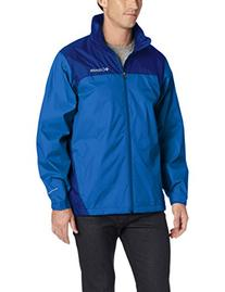 Columbia Men's Glennaker Lake Rain Jacket, Hyper Blue/Marine