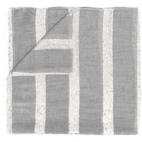 Eleventy - glitter striped scarf - women - Polyamide/