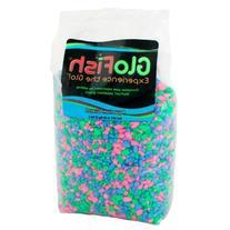 GloFish Aquarium Gravel - Fluorescent Mix - 5 lb