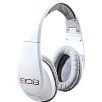808 Gloss White Headphones