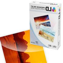 LD Glossy Inkjet Photo Sticker Paper  100 pack