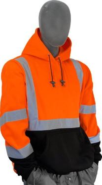 Majestic Glove 75-5328 High Visibility Sweatshirt with