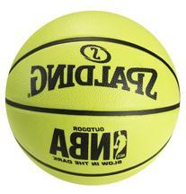 Spalding NBA Glow in the Dark Basketball - Intermediate Size