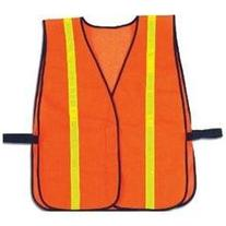 GloWear 8040HL Non-Certified Hi-Gloss Vest - Color: Orange