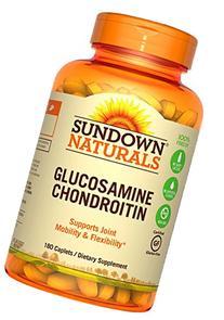 Sundown Naturals Glucosamine Chondroitin Double-Strength w/