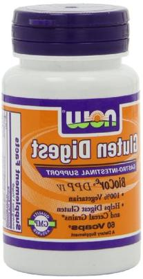 NOW Foods Gluten Digest Enzymes, 60 Vcaps
