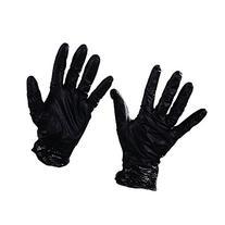 Best GLV2005L Nighthawk Nitrile Gloves Powder-Free, Black,
