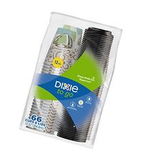 Dixie To Go Paper Cups & Lids, Disposable Insulated Cups and