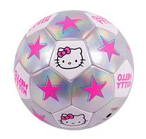 Hello Kitty Go! Model 1601 Soccer Ball, Size 3, Silver/Pink