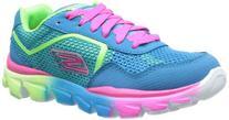 Skechers Kids 80685L GO Run Ride Sneaker,Blue/Multi,5.5 M US
