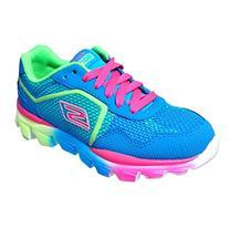 Skechers Kids 80685L GO Run Ride Sneaker,Blue/Multi,6 M US