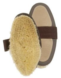 Centaur Large Body-Goat Hair Brush - Dark Brown/tan