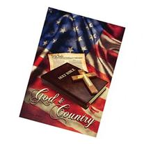 God And Country The Constitution And Holy Bible Patriotic