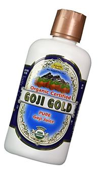 Dynamic Health Goji Gold- 100% Pure Organic Certified Goji
