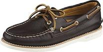 Sperry Top-Sider Women's Gold A/O 2-Eye Leather Dark Brown